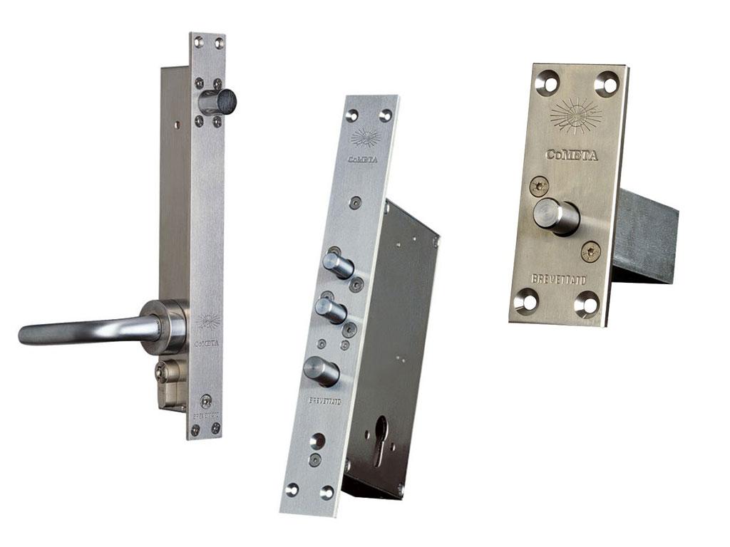 CoMETA - Professional security locks with antiburglary high
