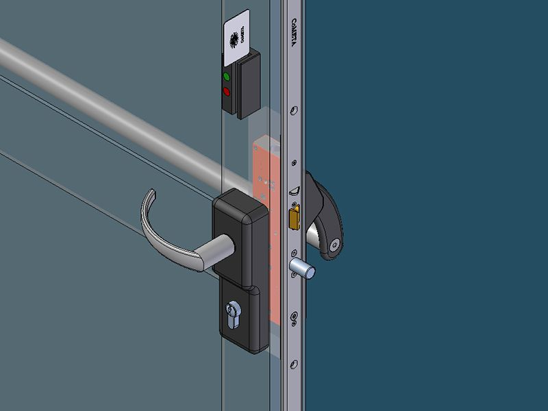Emergency Exit Lock Co306 Product Detail Cometa S P A